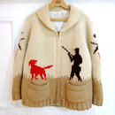 60s  cowichan sweater