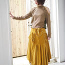 【 medetasy 】velveteen long skirt