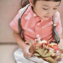 【 melenani 】grandpa shirt -pink-