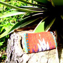 メキシコ手織りラナポーチ rojo