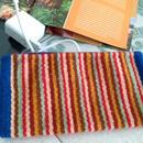 メキシコ手織りラナポーチ 中サイズ