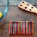 メキシコ手織りラナポーチ mil rayas