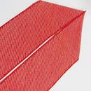 【絞り 半えり】正絹 日本製 /鹿の子☆赤白【新品】メール便可
