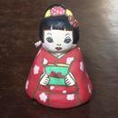 キモノ少女土鈴 Claybell of Kimono girl