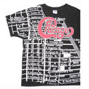 1993 Chicago MAP T-SHIRT XL  MADE IN USA