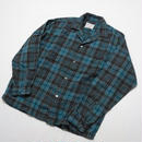 WOOL CHECK SHIRT M
