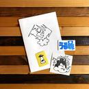 KIZM Zine +3 Stickers SET