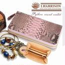 J.HARRISONダイヤモンドパイソンファスナー付ラウンド財布 JWT-015PK 【送料無料】