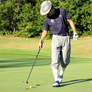 【送料無料】ゴルフウェア  ニッカボッカーズ(メンズパンツ)無地(グレー)柄 【 3シーズン(春夏秋)用】