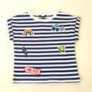 【Caldia】ワッペンTシャツ
