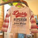【DADDYHODADDY】Tシャツ×ロンT
