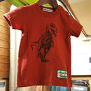【Donkey Jossy】恐竜Tシャツ(ORANGE)