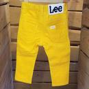 【Lee】カラーパンツ(YELLOW)