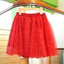 【Donkey Jossy】チュールスカート(RED)