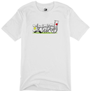 攻城団ロゴTシャツ(白、前面)