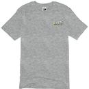 攻城団ロゴTシャツ(グレー、背面)