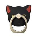 猫型 ホールド リング  02.Fanny(クロ)