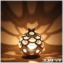 ひょうたんランプ017【ドーム/ホワイト】