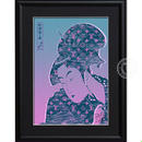 A4 ポスターフレームセット 【 深く忍恋× Louis Vuitton #sh50 】