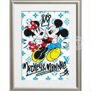 A4 ポスターフレームセット 【 Mickey&Minnie Lovers #td41 】