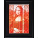 A4 ポスターフレームセット  【 Coloured MONA LISA ART #er05 】