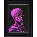 A4 ポスターフレームセット 【 Van Gogh Skull with Cigarette #sh09 】