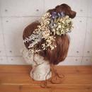 manmaru~aibito~プリザーブドフラワーのヘッドドレス