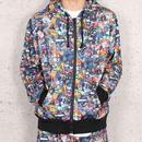 KINGSIZE /raggagara zip hoodie
