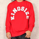 KINGSIZE /arch logo crew sweat