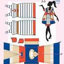 Lev.2 着せ替え人形の洋服作り Dress your doll  -marin-