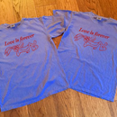 Love is forever - Sorry a bootlg pgm 19s/s Tee(Blue)