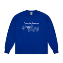 Love is forever - Sorry a bootlg pgm 19s/s Long sleeve (Blue)