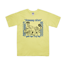 Throwaway culture - We are city boys Tee  / Light Yellow