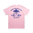 Xaymaca Bad health club - Dandong stuff Tee / LIGHT PINK