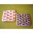 北欧柄 キルティング 鍋敷き 2種類