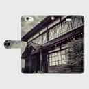 富山県・上市町遊廓 iPhoneケース(手帳型)