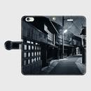 香川県・多度津遊廓 iPhoneケース(手帳型)