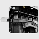 奈良県・東岡遊廓 iPhoneケース(手帳型)