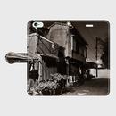 和歌山県・天王新地 iPhoneケース(手帳型)