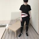 モンスター風Tシャツ  黒