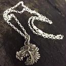 KraftyTiger Silver Necklace