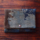 SASHIKO(BORO) PURSE(JAPAN×USA)No.07