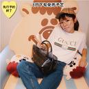 【8月下旬発売予定】バッグINバッグ付きビニールチェックバッグ【KMT-352BN】