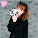 クマタン ダイカットiPhoneケース 8/7/6S/6対応【KMT-336BK】