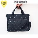 【6月上旬発売予定】星スタッズ多収納2WAYバッグ【KMT-310BK】