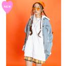 LOVE刺繍ジップパーカー【KMT-211WH】