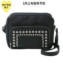 【6月上旬発売予定】お財布機能付きビジューショルダーバッグ【KMT-306BK】
