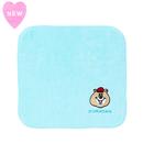 クマタン 刺繍ハンカチタオル【KMT-344BU】