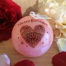 お誕生日プレゼントキャンドル(バニラの香り)ラッピング付き!
