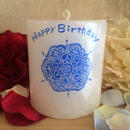 お誕生日プレゼントキャンドル(プルメリアの香り)